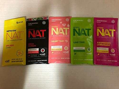 Pruvit Keto NAT charge Ketones Packet 5 VARIOUS FLAVOR Mixed Packs