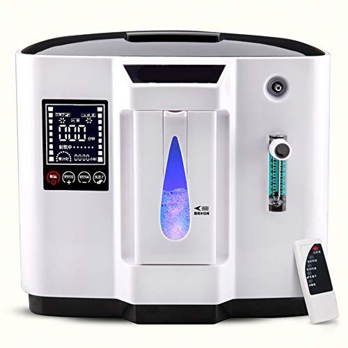 LALEO Grado Superior 90% Alta Pureza 6L Flujo Uso Doméstico Médico Portátil Concentrador De Oxígeno Generador