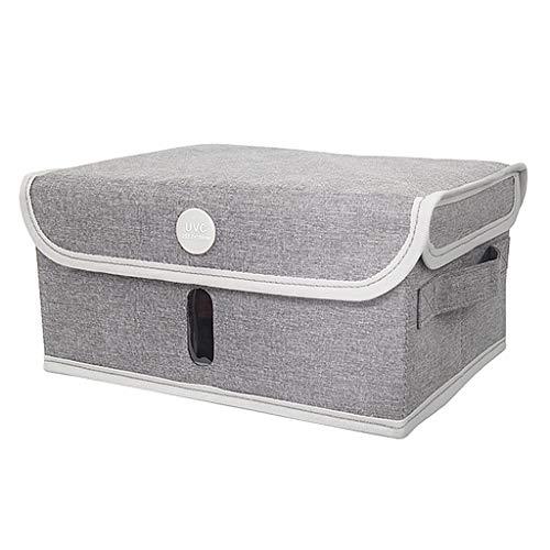 Harilla Bolsa Desinfectante UVC, Bolsa Esterilizadora con Limpiador UV, LED UV Recargable USB Portátil