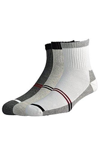 Peter England Men's Stripe Socks (Pack Of 3)