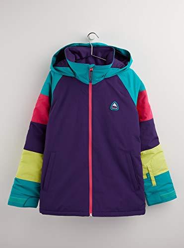 Burton Mädchen Hart Snowboard Jacke, Parachute/Rainbow, M