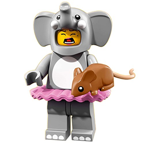 LEGO 71021 Series 18 #1 - Figura de elefante con ratón