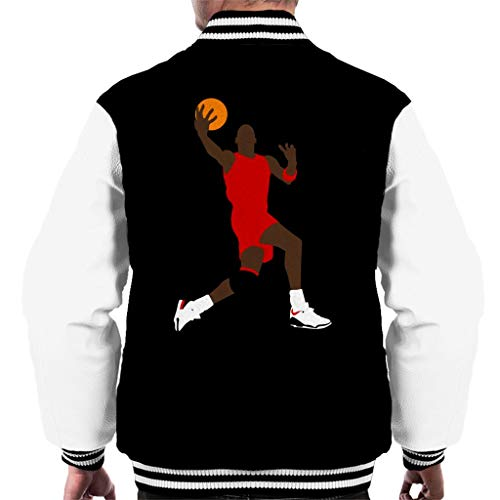 Cloud City 7 Jordan Lay Up Silhouette Men's Varsity Jacket