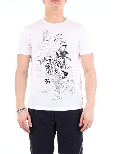 Fendi FY0894A9IT - Aros de manga corta (talla XL), color blanco