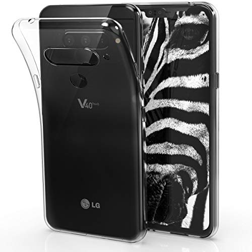 kwmobile LG V40 ThinQ Hülle - Handyhülle für LG V40 ThinQ - Handy Case in Transparent