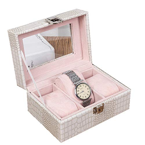 Schmuckkästchen Hochwertige Uhrenbox Hipster Pu Leder Schmuckschatulle Für Uhr 3-bit Uhrenbox Counter Spot