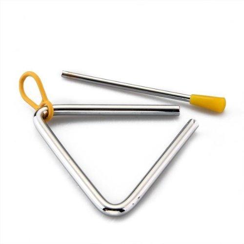 Triangolo Percussion - TOOGOO(R) Strumenti musicali Percussione Triangolo Shaker forgiato Cena Cowboy