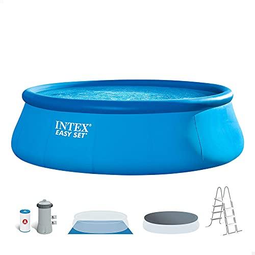Intex 26168NP - Piscina hinchable intex easy set 457x122 cm - 14.141 litros