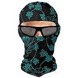 Blaue Blume Maske Gesicht UV Schutz Winddicht Staub im Freien Radfahren Sport Neck Gamasche
