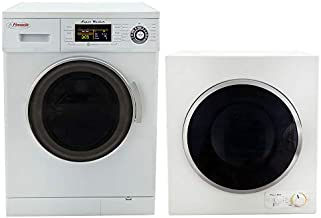RecPro RV Washer and Dryer Combo Super Washer and Electric Dryer | RV Washer Dryer Combo | RV Stackable Washer and Dryer