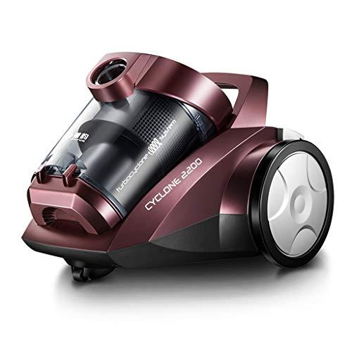 RXL-Aspirador Aspiradora doméstica pequeña Potente poderosa Mute de Alta Potencia (Color : A)