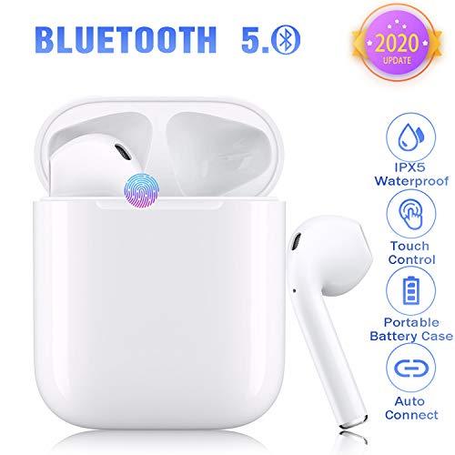 Auricolari Bluetooth 5.0 Cuffie HiFi Cuffie wireless Cuffie stereo Bluetooth Cuffie auricolari...