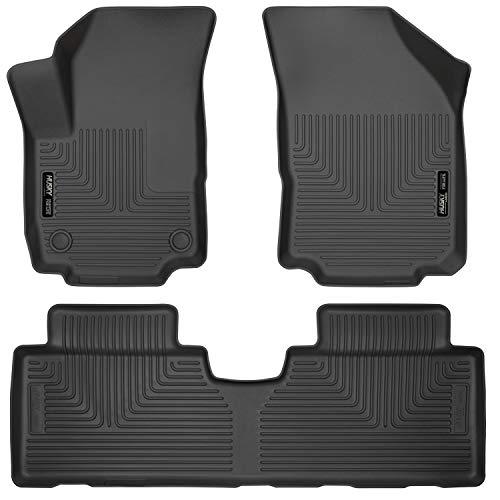 Husky Liners Fits 2018-20 Chevrolet Equinox Weatherbeater Front & 2nd Seat Floor Mats