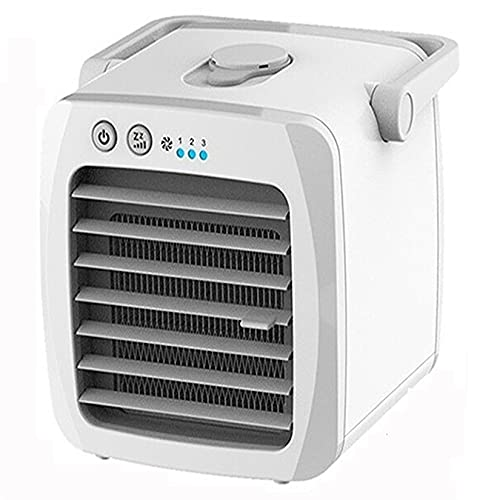 GLF Mini Air Conditioner Fan Evaporative Air Cooler, Fan, Air Conditioner, Purifier Air Conditioner Fan Personal Space Fan Cooler USB Arctic Cooling Humidifier The Quick Easy Way To Cool For Home