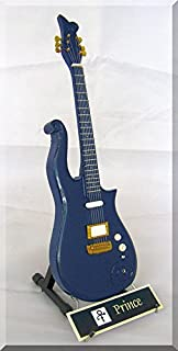 PRINCE Miniature Guitar CLOUD Blue w/name tag