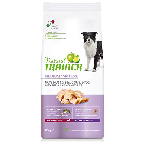 Natural Trainer - Cibo per Cani Medium Maturity 12kg