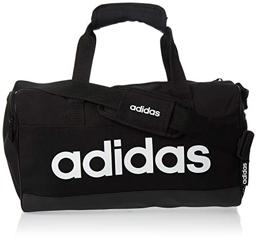 Adidas Lin Duffle XS Gym Bag  Unisex Adulto  Black White  NS