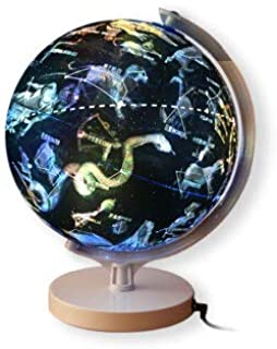 Big dipper globe 22.8 cm (children's day gift choice for hd LED lights the stars)(Chinese Edition)
