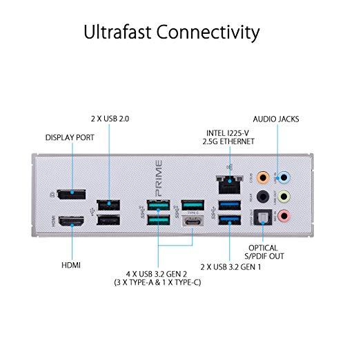 Asus PRIME Z490-A ATX LGA1200 Motherboard