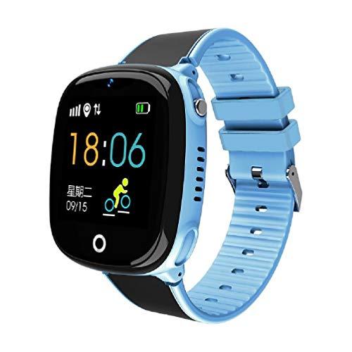 Ydh HW11 IP67 Resistente al Agua Smart Watch GPS Seguridad de Seguridad de Seguridad SOS Llamada Podómetro Verde Inteligente con cámara para niños Niños Pantalla táctil Reloj Inteligente