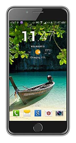 IKall K1 Smartphone (5 Inch Display, 1GB Ram, 8GB Internal Memory, Dual Sim 4G Volte) (Silver)