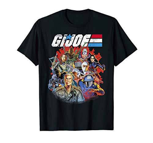 G.I. Joe Group Shot Fade T-Shirt