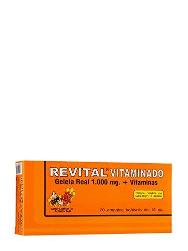 Revital Vitaminado - Fórmula con 1.000 mg de Jalea Real y Vitaminas - 20 Viales
