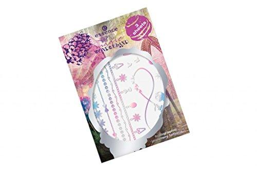 Essence Tatouages décoratifs temporaires doigts, les bras et le corps, n°01\