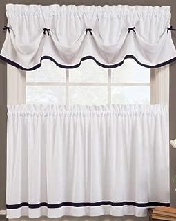 naturally home Kate Elegance Kitchen Curtain Set - Valance (58