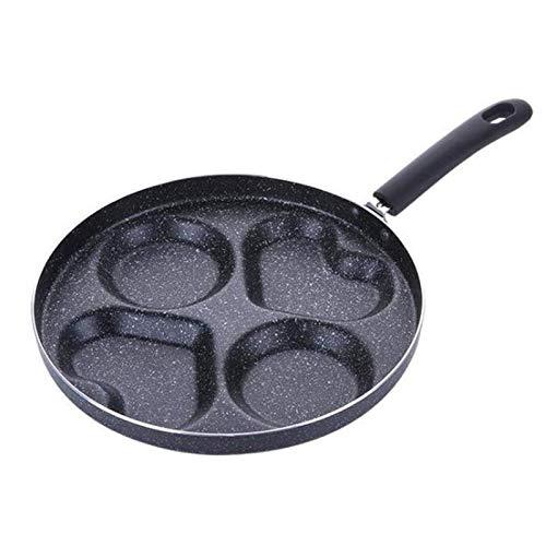 Adesign Sartén de sartén Antiadherente 24 cm, sartenes de Piedra Utensilios de Cocina de Utensilios de Cocina, sartén sartén de sartén.No Stick no Hay Aceite-Humo Desayuno Parrilla Pan Pan de Cocina