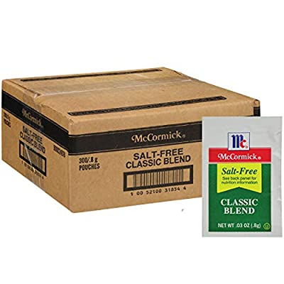 McCormick Culinary Salt-Free Classic Blend Packets, 0.8 g (300 count)
