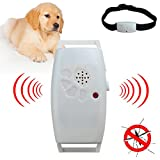 LEEPRA Dog Cat Pet Collar Ultrasonic Mosquito Bug Pest Repellent Repeller Pet Supplies