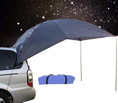 4YANG Carpa de Autos para vehículos Familiares y vehículos pequeños SUV/MPV Acampar al Aire Libre Camping Familiar Cuenta de Cola de Coche Cuenta de Lado de Lado Car Tiendas