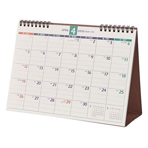 能率 NOLTY カレンダー 2020年 4月始まり B6 卓上 21 U214 ([カレンダー])