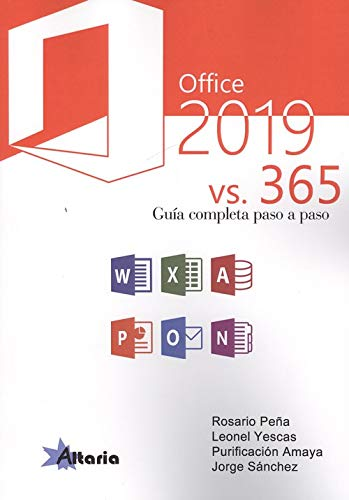 OFFICE 2019 VS 365: GUÍA COMPLETA PASO A PASO