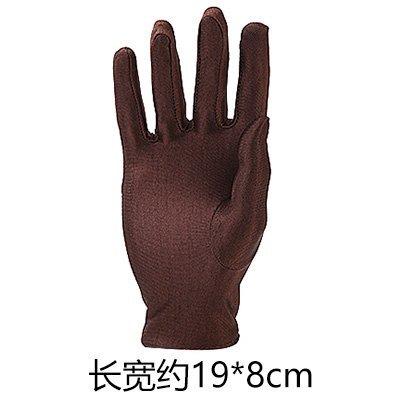 MMXXAIWWAA Zomer Outdoor Rijden Zonwering Zonwering Handschoenen Vrouwelijke Dunne Anti-UV ijs Zijde Heren Vissen Korte Handschoenen, Een Maat, Koffie
