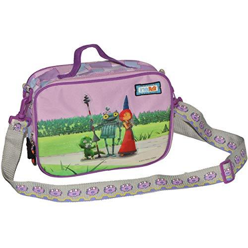 alles-meine.de GmbH Umhängetasche - Ritter Rost - für Kinder - Kindertasche Tasche Stoff Mädchen Märchen abwischbar