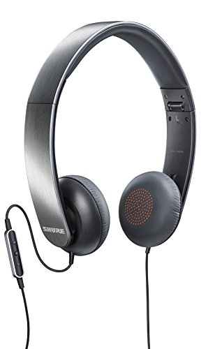 Shure SRH145m+ Portable Collapsible Headphones with...