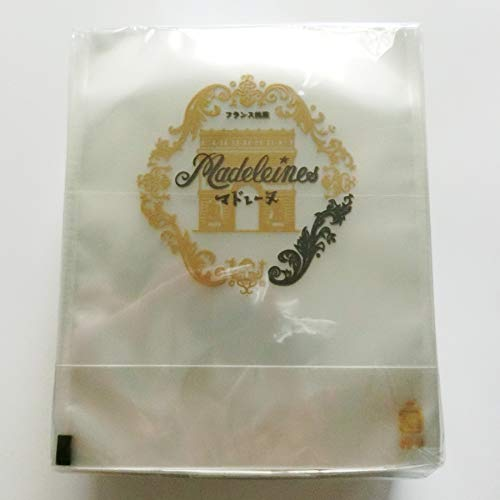 マドレーヌ用印刷袋「凱旋門」(135×130+35mm)「メール便でお届け致します」 SEMPREM (200枚)