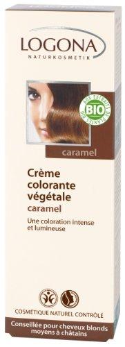 Pflanzen-Haarfarbe Color Creme - Nougat-Braun
