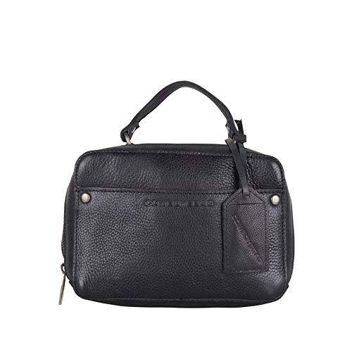 Cowboysbag Damen Leder Tasche Handtasche Bag Almo Black Schwarz 2190
