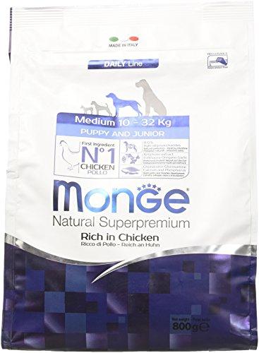 Monge Cane Medium Puppy&Junior Gr 800