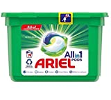 Cápsulas líquidas Ariel todo en 1 para lavado original, 19 lavados, limpia, levanta las manchas, ilumina