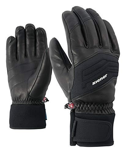 Ziener Herren Gowon AS Glove Alpine Ski-Handschuhe/Wintersport | Wasserdicht, Atmungsaktiv, , schwarz (black), 9