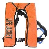 MYXE Chaleco Salvavidas Adultos Chalecos Salvavidas inflables Totalmente automáticos Collar Pesca Chalecos Salvavidas Profesionales
