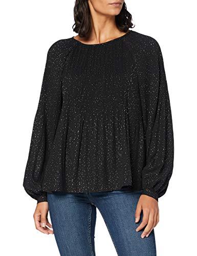 Teddy Smith 32315044D Shirt, Noir, Medium Femme