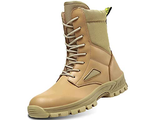 IYVW G201323 otas Militares à Prova d'água Comando ao ar Livre Botas táticas do deserto Botas de Combate Botas de patrulha do exército Sapatos de segurança