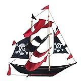 Beachcombers Pirate Ship Kite Red