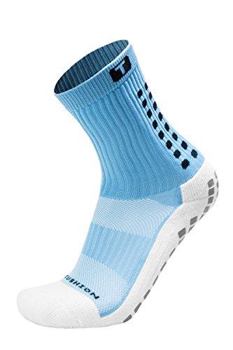 TRUSOX Mid-Calf Crew Cushion Soccer Socks