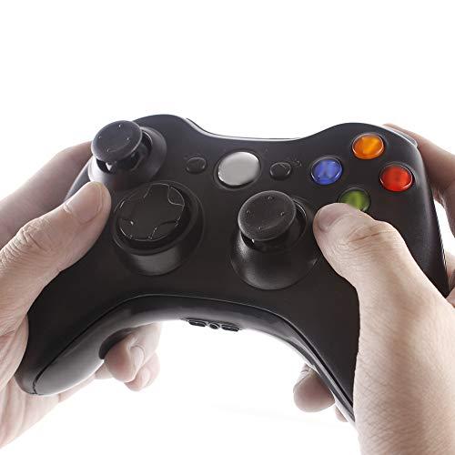THDFV Contrôleur sans Fil, adapté aux Jeux sur Console, PC, Manette de Jeu ricaricabile, Vibration Stable